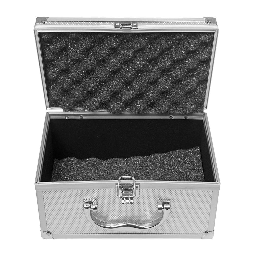Aluminium Legierung Werkzeug box Tragbare Sicherheit Ausrüstung Instrument Fall Display Fall Koffer Hardware Werkzeug Fall 230x150x125mm