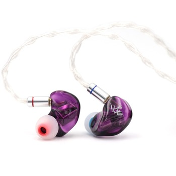 Fearless Audio Crystal Pearl 2BA Knowles Drivers In Ear Earphones HiFi Monitors IEM With 0.78mm 2Pin Detachable Cable