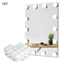 Vanity Light Bathroom Makeup Mirror LED Lights Touch Dimming DC5V USB Powered Hollywood Style Dressing Table Lighting Bulb White