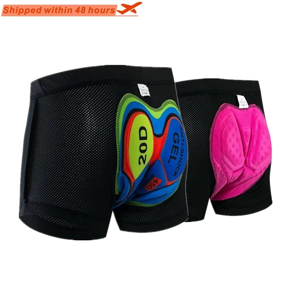 Cycling shorts cycling sports underwear compression tights bicycle shorts gel underwear men and women MTB Shorts Riding Bike