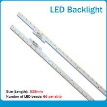 Новые 20 шт/компл светодиодные полосы подсветки для samsung