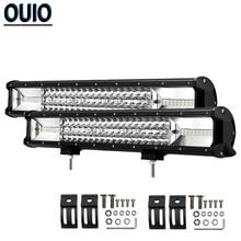 20 Inch 540W Offroad LED Light Bar Flood Spot Combo Beam Work Light Fog Light For 4x4 4WD SUV ATV Headlight Track Trailers Boat