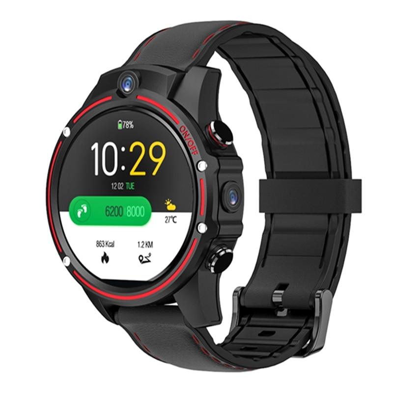 Kospet Vision 3G + 32G 8.0MP Cámara Dual frontal 4G LTE videollamada 800mAh Google Play cámara de búsqueda de voz Smart Watch teléfono - 2