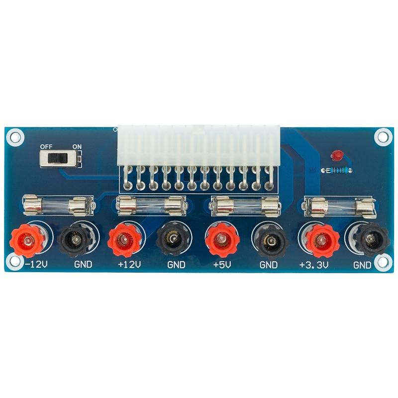 XH-M229 настольных ПК Шасси Мощность блок питания ATX передачи плата адаптера Питание цепи выход модуля 24Pin Выход терминал 24 шпильки