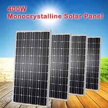 Solar-Panel Monocrystalline High-Efficiceny Rigid of 400W 1 for 12V/24V Durable And 4pcs