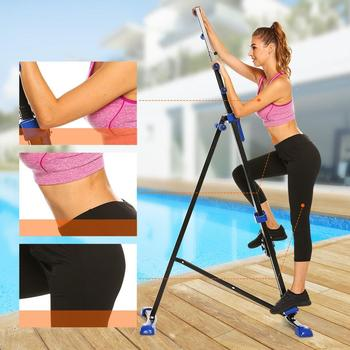 digital display climber climbing foldable vertical machine exercise training cardio stepper fitness workout gym home equipment Digital Display Climber Climbing  Foldable Vertical Machine Exercise Training Cardio Stepper Fitness Workout Gym Home Equipment