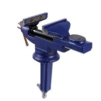 60MM Vise Table durable steel construction Two-way swivel at the base and jaw for DIY Craft Mold Fixed Repair Tool