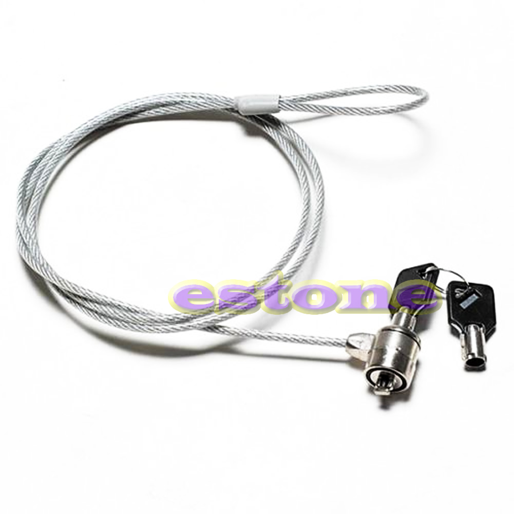 Notebook <font><b>Laptop</b></font> Computer Security key <font><b>Lock</b></font> <font><b>Cable</b></font> Chain New Drop shipping image