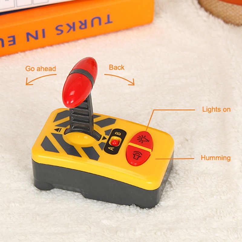Mini RC araba uzaktan kumanda RC elektrikli küçük oyuncak trenler Set küçük trenler oyuncak bağlı ahşap demiryolu rayı ilginç oyuncak