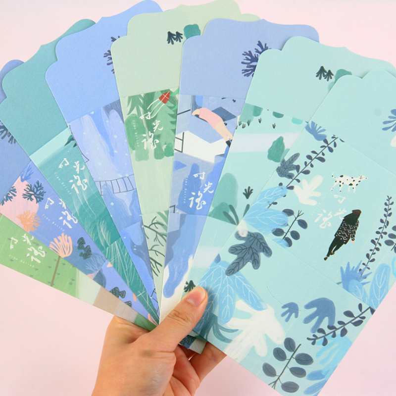 1pcs/lot Kawaii Time-shake Paper Letter For Invitations Christmas Card Letter Paper Stationery Gift School Office Supplies
