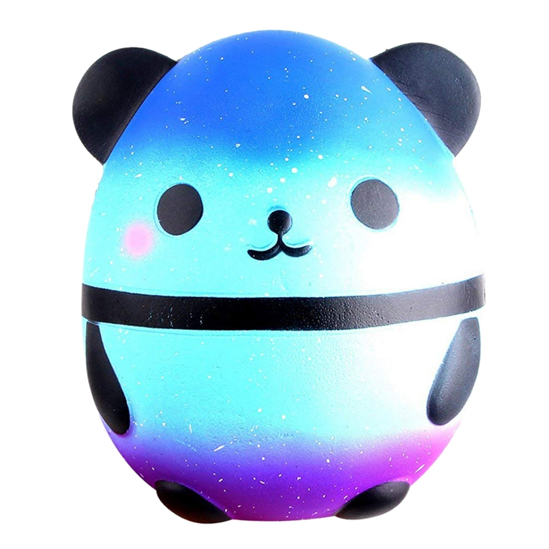 Slow Rising Squeeze Squishy Jumbo Scented Panda Egg Shaped Super Soft Stress Relief Kids Adult Decompression Toy