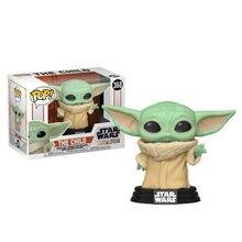 Funko Pop-figuras de acción de STAR WARS Para Niños, modelo de figura de acción de vinilo, Yoda #368