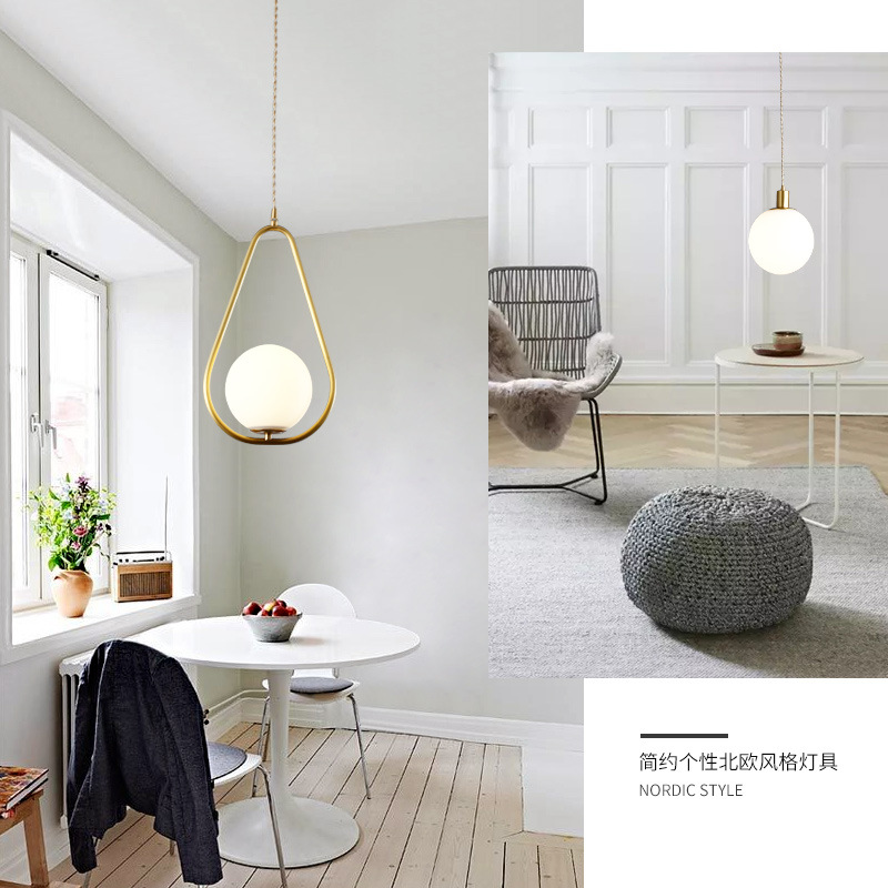 modern hanging ceiling lamps lustre pendente wood bedroom Home Decoration E27 Light Fixture hanging lamp pendant lights image