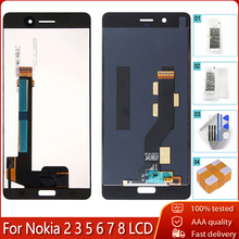 AAA Quality For Nokia 8 7 6 5 3 2 LCD Display Touch Screen Digitizer Assembly For Nokia N8 N6 N7 N5 N3 N2 LCD Display Test OK