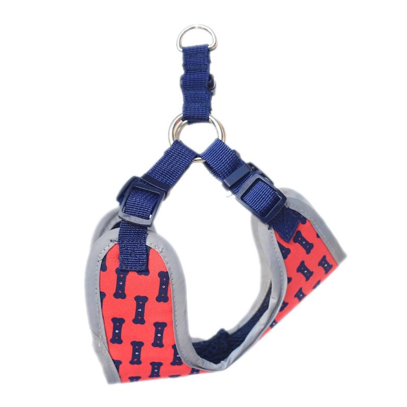 Pet Dog Hand Holding Rope Suspender Strap LED Shining Light-up Chest Suspender Strap Vest Style Breathable Shoulder Hand Holding