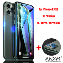 Tempered Glass For iPhone X XR XS 11 Pro Max Screen Protector Back Camera Lens On Phone Protective For iPhone  11 Pro Max Glass