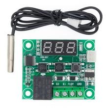 10PCS W1209 DC 12V warmte cool temp thermostaat temperatuur schakelaar temperatuurregelaar thermometer thermo controller