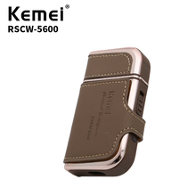 Kemei Rechargeable Electric Shaver Facial Care Men's Shaving Electric Shaver Hair Trimmer High Quality Material RSCW-5600 rscw 9001 portable shaver electric razor