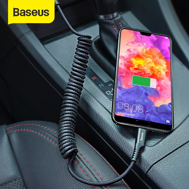 Baseus Flexible USB Type C Cable for Samsung Galaxy S9 Plus 2A Fast Charging Data Cable Nylon Braided USB C Cable for huawei|Mobile Phone Cables|   - AliExpress