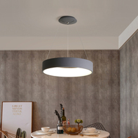 Classical modern led pendant lights lamp for dining room kitchen living room shop bar Grey or White Color Pendant Lamp Fixtures