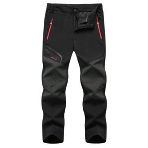 Image 2 - Мужские походные брюки размера плюс, 6XL, новые, летние, популярные, для пеших прогулок, рыбалки, кемпинга, скалолазания, бега, большие, водонепроницаемые, уличные штаны