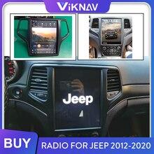 Для jeep grand cherokee 2012 2013 2014 2015 2016 2017 2018 2019 2020 автомобильное радио android головное устройство стереоприемник hd экран