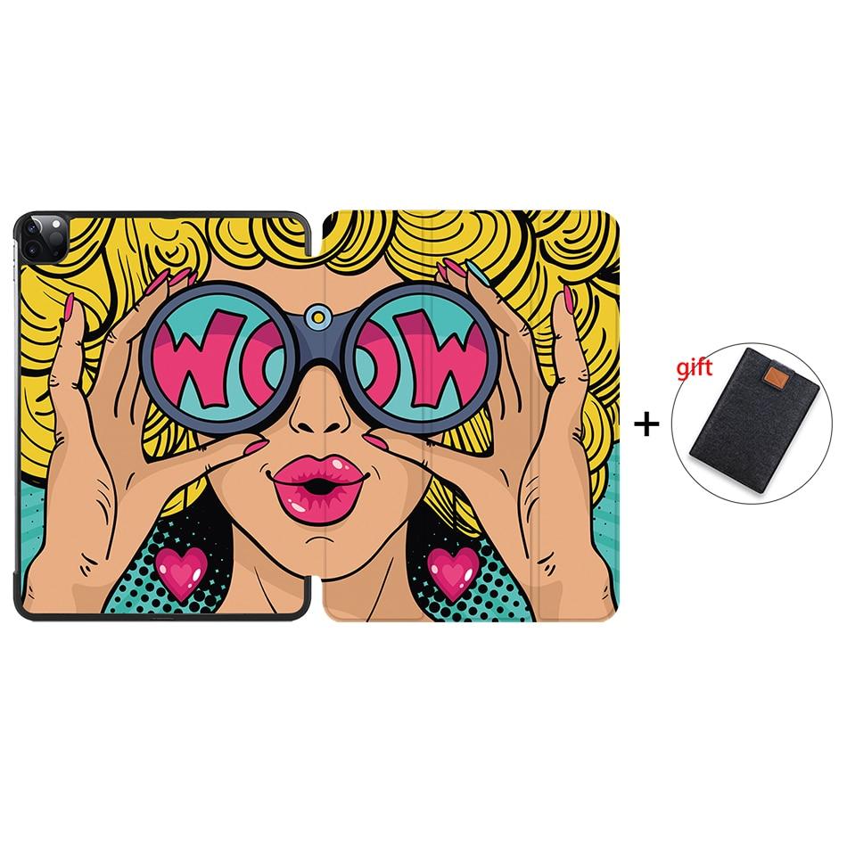 IP09 Gray MTT Case For iPad Pro 11 inch 2nd Gen 2020 Funda A2228 A2231 Slim PU Leather