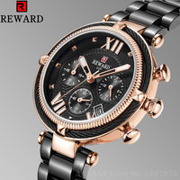 2019 Ladies Wrist Watch Women Watches Brand New Wristwatch Stainless Steel Female Quartz Watch For Women Clock Chronograph Hour