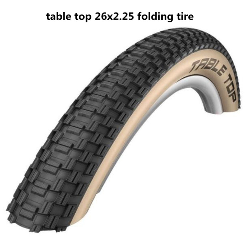 Mountain bike dirt slope tire <font><b>26X2.25</b></font> MTB folding TABLE TOP Mountain Bike Lightweight Tire Stab image