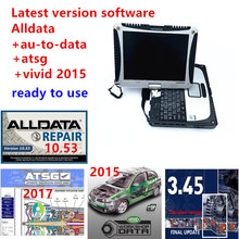 Laptop Alldata Repair Auto-Data Software Atsg for Car-And-Trucks Well-Cf19 4GB Installed