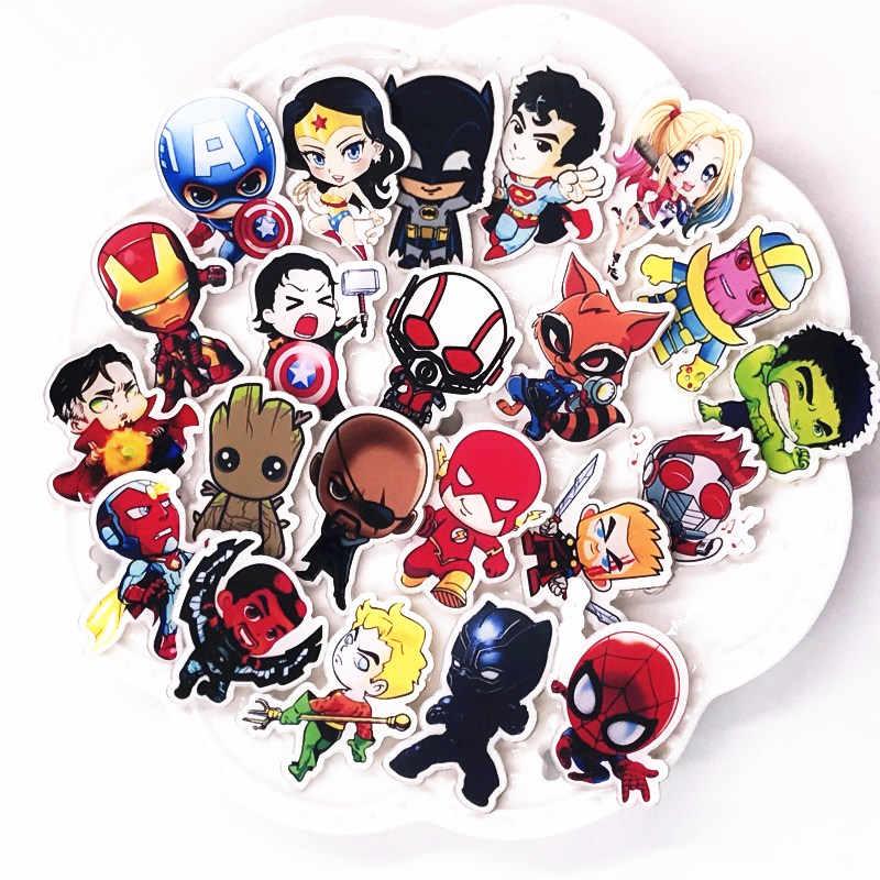 1 Pcs Berkualitas Tinggi Super Penjahat Super Thanos Acrylic Pin Film Marvel Karakter Ikon Lencana Kartun Bros untuk Pesta Anak hadiah