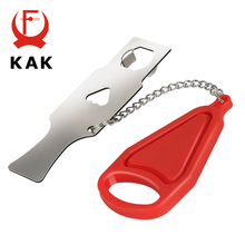 KAK Portable Door Lock Anti-theft Travel Childproof for Security Home Hotel Safety Hardware