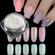 1g Dazzling Sugar Holographic Glitter Pigment Nail Art Glitter Dust Mermaid Glimmer Powder Nail Decorations Manicure TRTY01 05