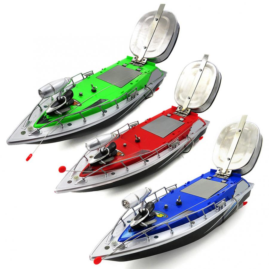 RC Fishing Baits Boat  Wireless Remote Control Fish Finder Lure Boat Fishing Bait Ship Aircraft Fish Lures Carrier Fishing Tools