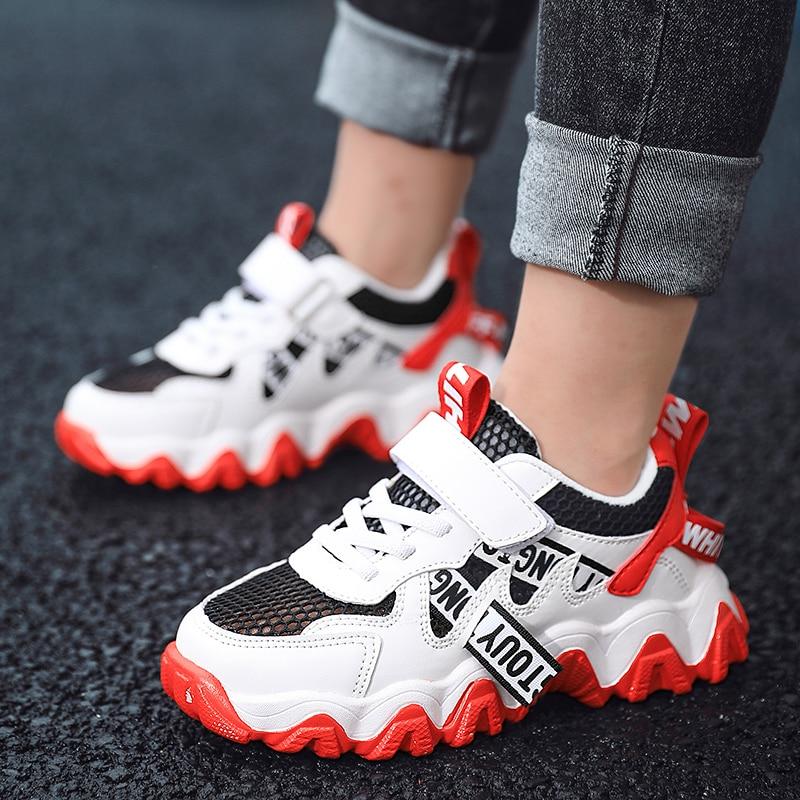 Summer Sneakers For Girls Comfortable Kids Shoes Mesh Children's Shoes Breathable Tenis Infantil Menina Size 28-38