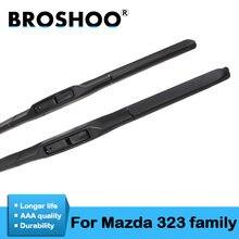 Резиновые стеклоочистители broshoo для семейства mazda 323 1994