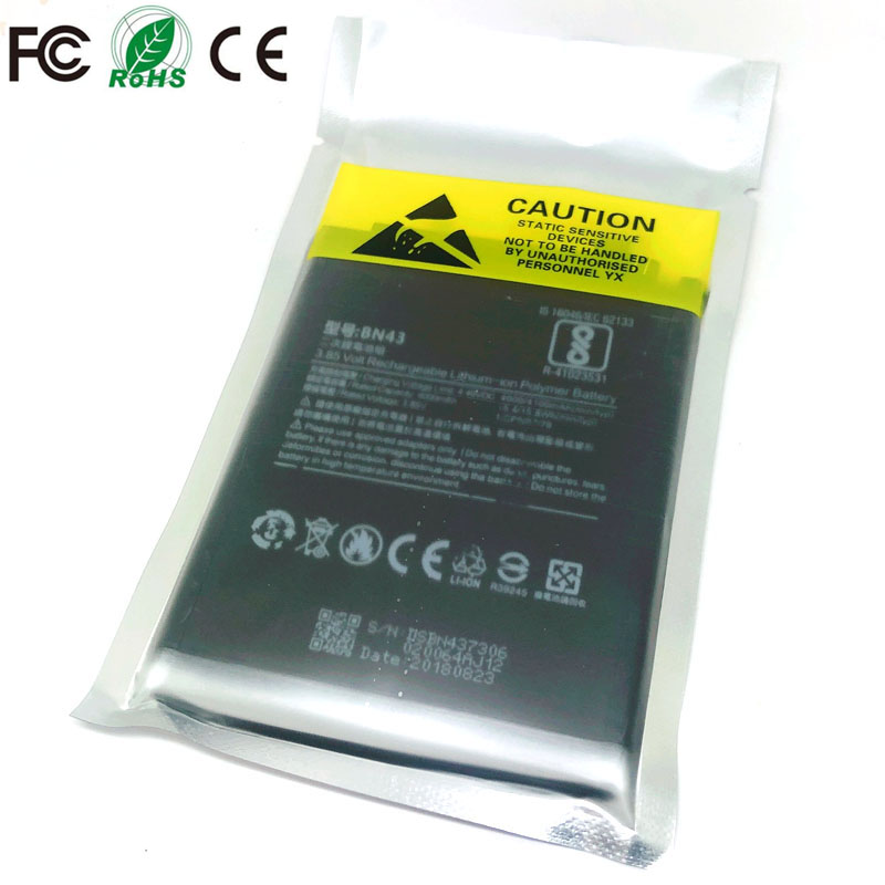 BN43 Rechargeable <font><b>Battery</b></font> For Xiaomi <font><b>Mi</b></font> Redmi Note <font><b>4X</b></font> / Note 4 global Snapdragon 625 Phone Replacement <font><b>battery</b></font> image
