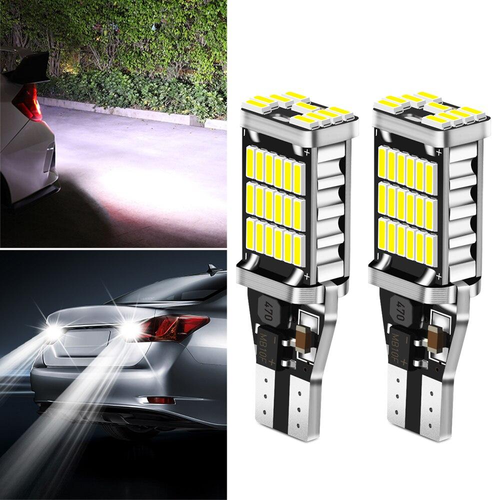 2x Canbus T16 T15 921 W16W Светодиодная лампа Автомобильные фары заднего хода для Nissan 370Z Altima GT R Maxima Murano Rogue Sentra Kicks