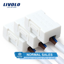 Livolo Lighting Adapter,The Saviour Of most Low-wattage LED Lamps (except dimmable lamp) , White Plastic Materials 3pcs/lot