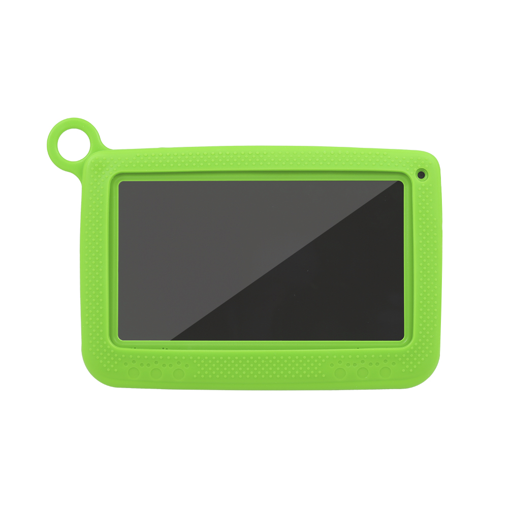 Q718 Quad Core Tablet CPU+GPU+VPU+APU 7inch Tablets PC Computer For Children Tablet Android 4.4 With Silicone Case
