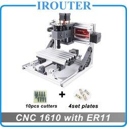 نك 1610 مع ER11 ، مصغرة diy بها بنفسك نك ماكينة الحفر بالليزر ، بب آلة طحن ، مسحاج حفر على الخشب ، cnc1610 ، أفضل اللعب المتقدمة