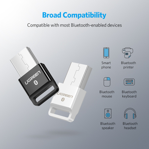 Image 5 - UGREEN USB Bluetooth 4.0 מתאם אלחוטי Dongle משדר ומקלט עבור מחשב עם Windows 10 8 7 XP Bluetooth סטריאו אוזניות