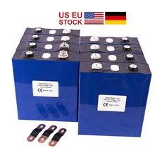 UPS sans taxe de lue des états unis ou FedEx 8 Pcs/Lot Cycle profond 3.2V 200Ah LiFePo4 batterie 3C pour lion Rechargeable de Lithium de voiture de Golf électrique