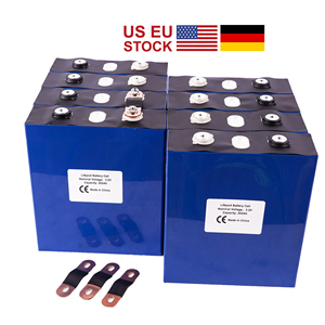 Image 1 - US EU TAX FREE UPS or FedEx 8Pcs/Lot Deep Cycle 3.2V 200Ah  LiFePo4 Battery 3C For Electric Golf Car Rechargeable Lithium ion