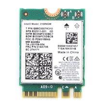 Wlan Wi-Fi adapter Wifi Bluetooth Intel NGFF Dual-Band Wireless for 3168 AC 3168ngw/Ngff/M.2/802.11ac