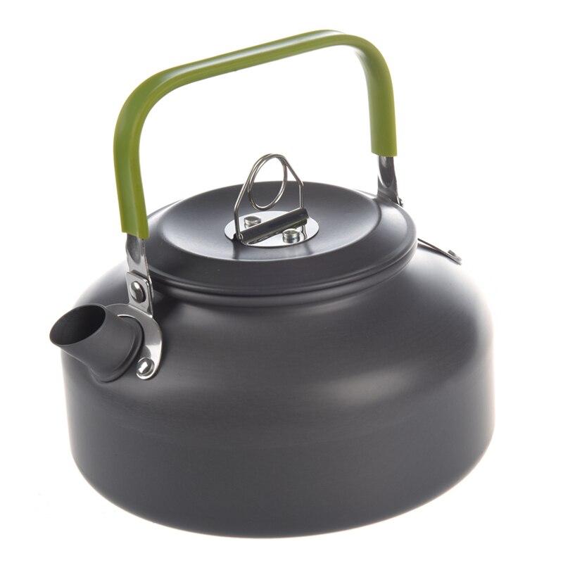 ABRA-0.8L Portable Ultra-léger randonnée en plein air Camping survie bouilloire d'eau théière cafetière en aluminium anodisé