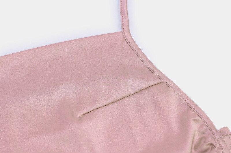 mini satin dress17