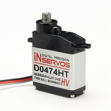 Newest Inservos Digital 7.4v 3.6kg Metal Gear Micro Servo D0474HT-HV For RC Helicopter Quadcopter Spare Parts Accs