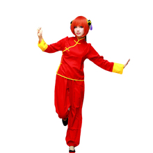 Brdwn Gintama Womens Kagura Tang Costume Leader Cosplay Costume Cheongsam Suit (Top+Pants) julia peters tang pivot points five decisions every successful leader must make