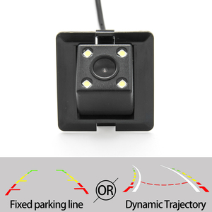 Fixed Or Dynamic Trajectory Car Rear View Camera For Toyota Land Cruiser Prado 150 2009-2016 Car Reverse Parking Accessories